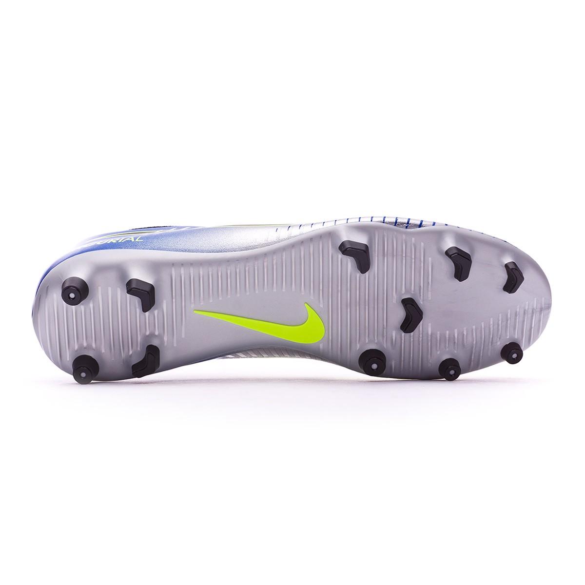 4788fa6d7c6 Football Boots Nike Mercurial Vortex III FG Neymar Racer  blue-Black-Chrome-Volt - Football store Fútbol Emotion