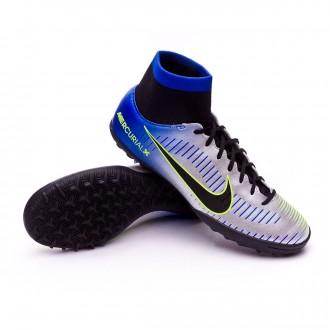 Zapatilla  Nike MercurialX Victory VI DF Turf Neymar Racer blue-Black-Chrome-Volt