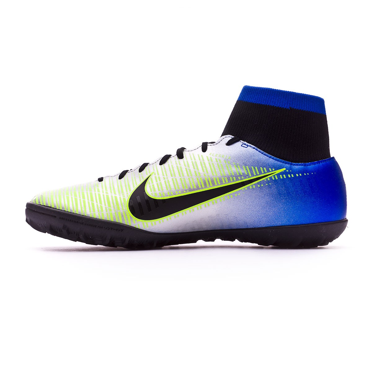 83fa20071e5 Football Boot Nike MercurialX Victory VI DF Turf Neymar Racer  blue-Black-Chrome-Volt - Tienda de fútbol Fútbol Emotion