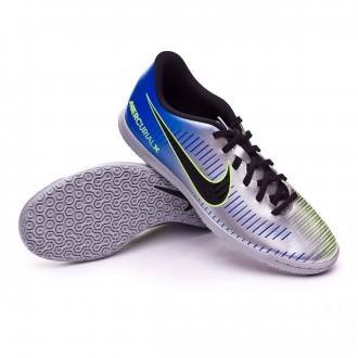 Sapatilha de Futsal  Nike MercurialX Vortex III IC Neymar Racer blue-Black-Chrome-Volt