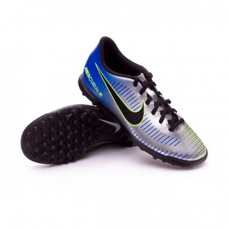 Sapatilha  Nike MercurialX Vortex III Turf Neymar Racer blue-Black-Chrome-Volt