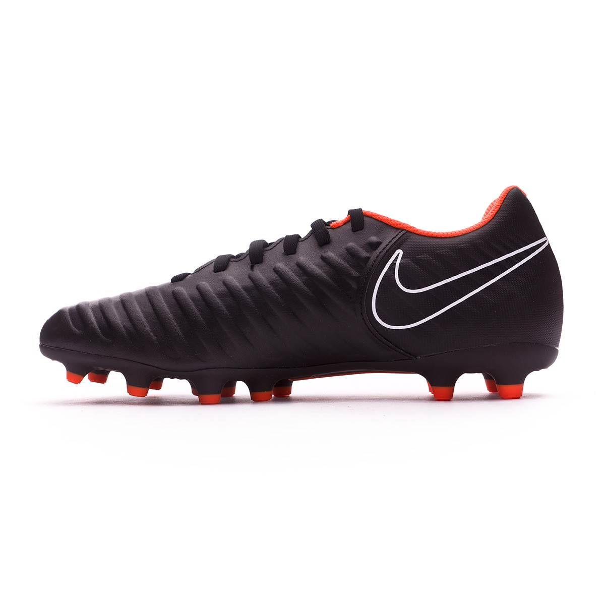 new arrival d7439 4de56 Zapatos de fútbol Nike Tiempo Legend VII Club FG Black-Total orange-White -  Tienda de fútbol Fútbol Emotion