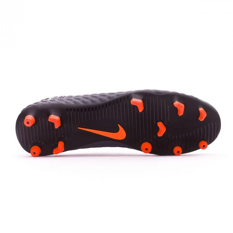 fa2d6d5acebd Boot Nike Hypervenom Phantom III Club FG Dark grey-Total orange ...