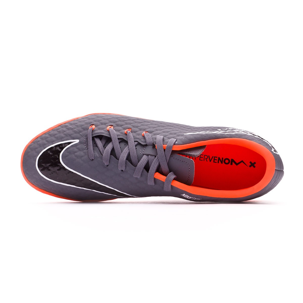 more photos 6f2ad 819a0 nike hypervenom phantomx iii grey orange shoes