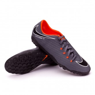 Tenis  Nike Hypervenom PhantomX III Academy Turf Dark grey-Total orange-White