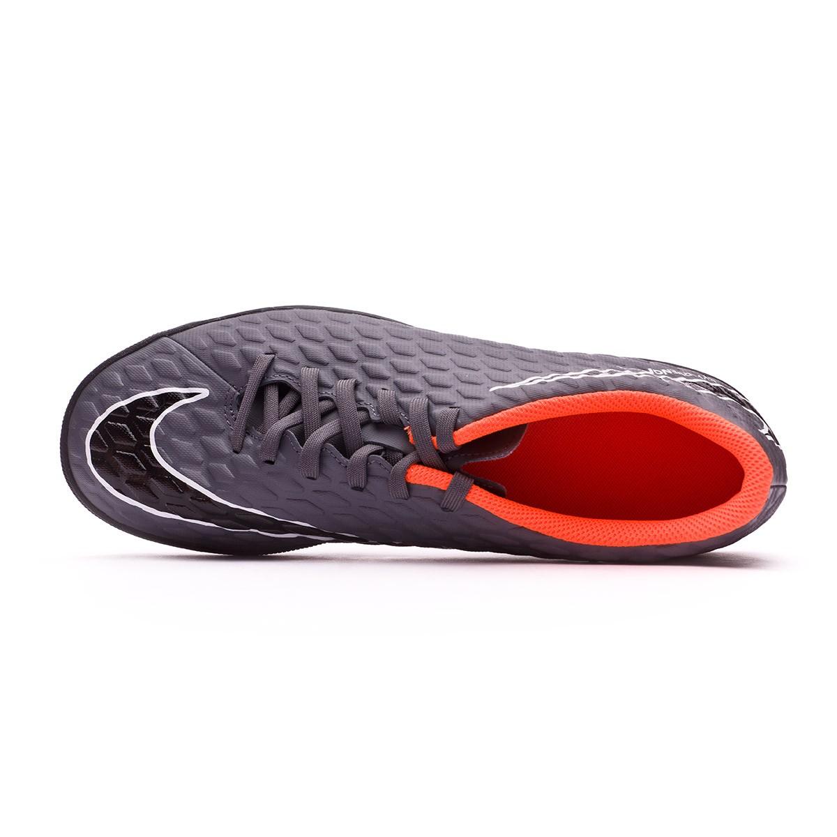 a7945d590fa Football Boot Nike Hypervenom PhantomX III Club Turf Dark grey-Total  orange-White - Soloporteros es ahora Fútbol Emotion