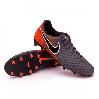 Zapatos de fútbol  Nike Magista Obra II Club FG Dark grey-Black-Total orange-White