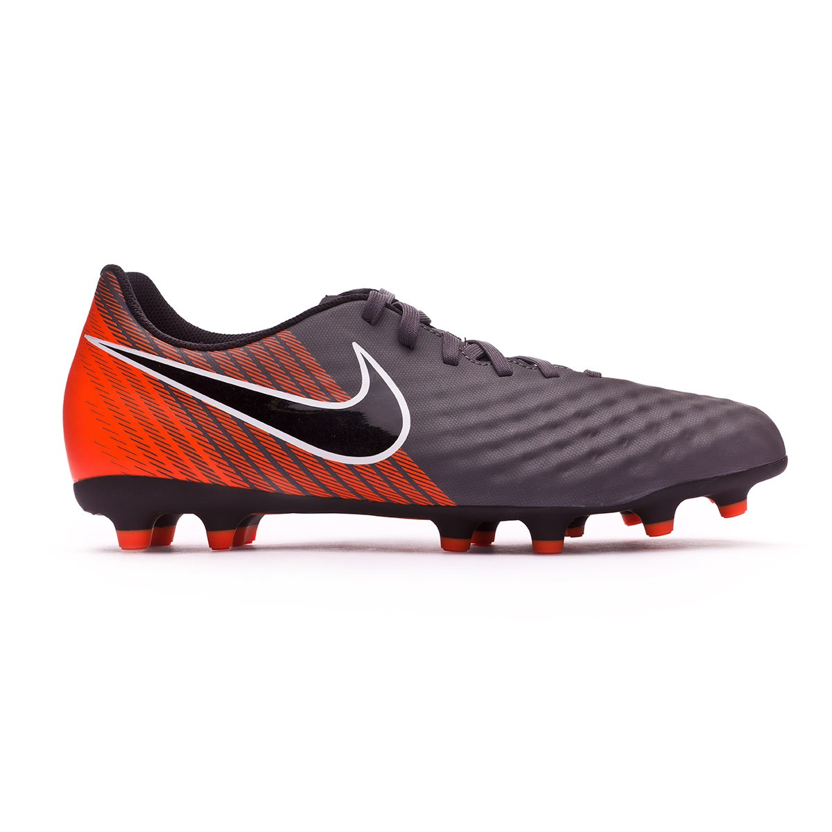 b1d3a6c568 ... Bota Magista Obra II Club FG Dark grey-Black-Total orange-White.  CATEGORIA. Chuteiras de futebol · Nike