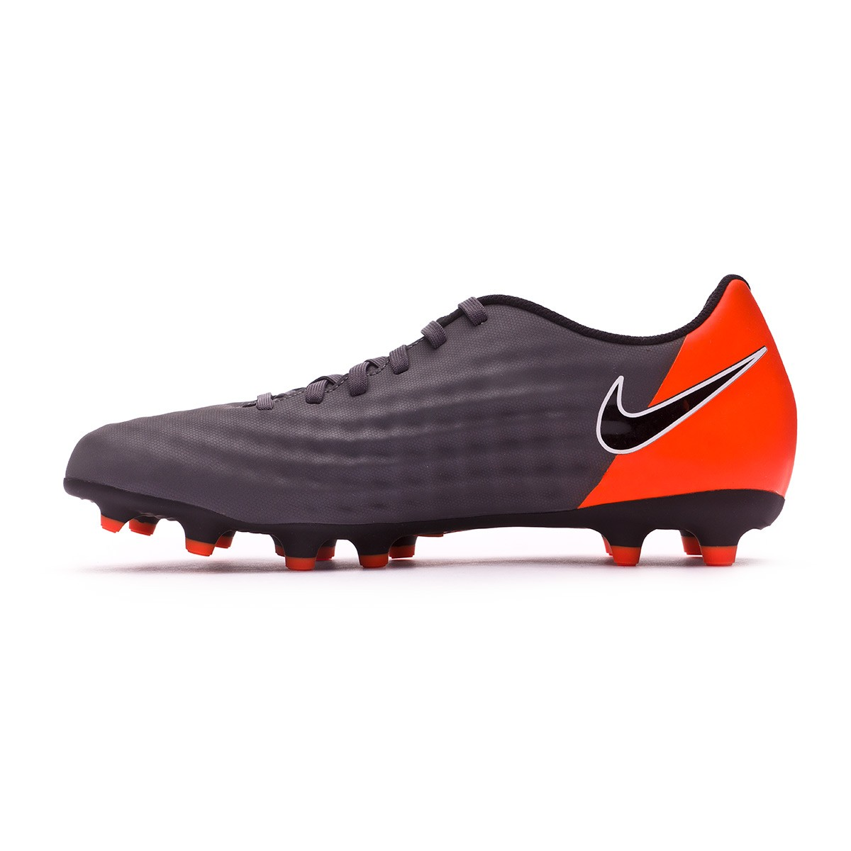 62a04d90713f Football Boots Nike Magista Obra II Club FG Dark grey-Black-Total orange- White - Football store Fútbol Emotion