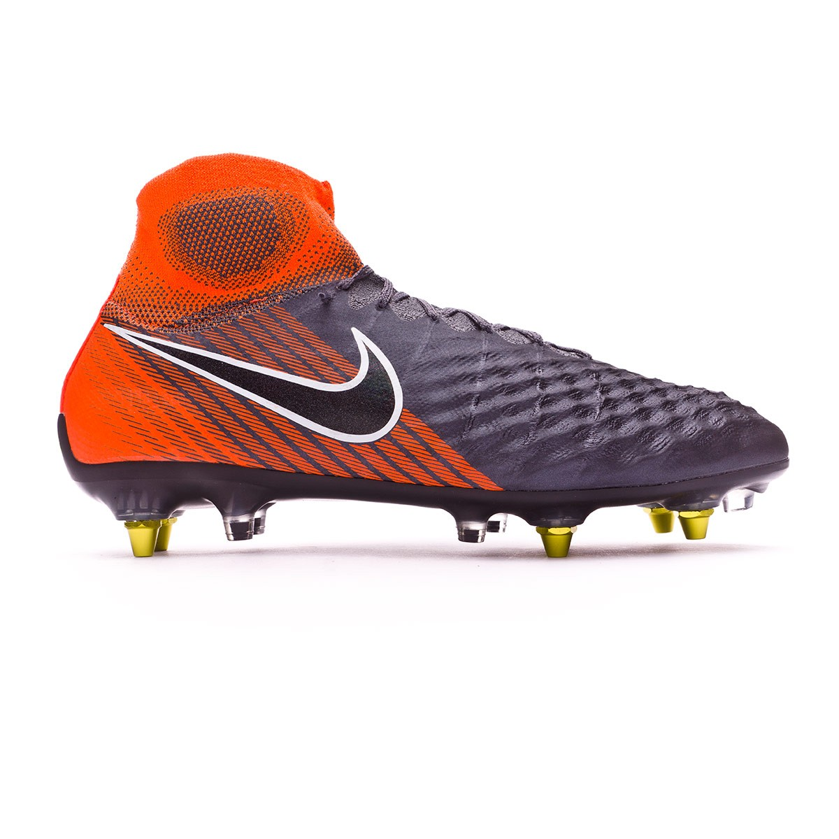 d28e29c2d4ca Football Boots Nike Magista Obra II Elite SG-Pro Anti-Clog Dark  grey-Black-Total orange-White - Football store Fútbol Emotion