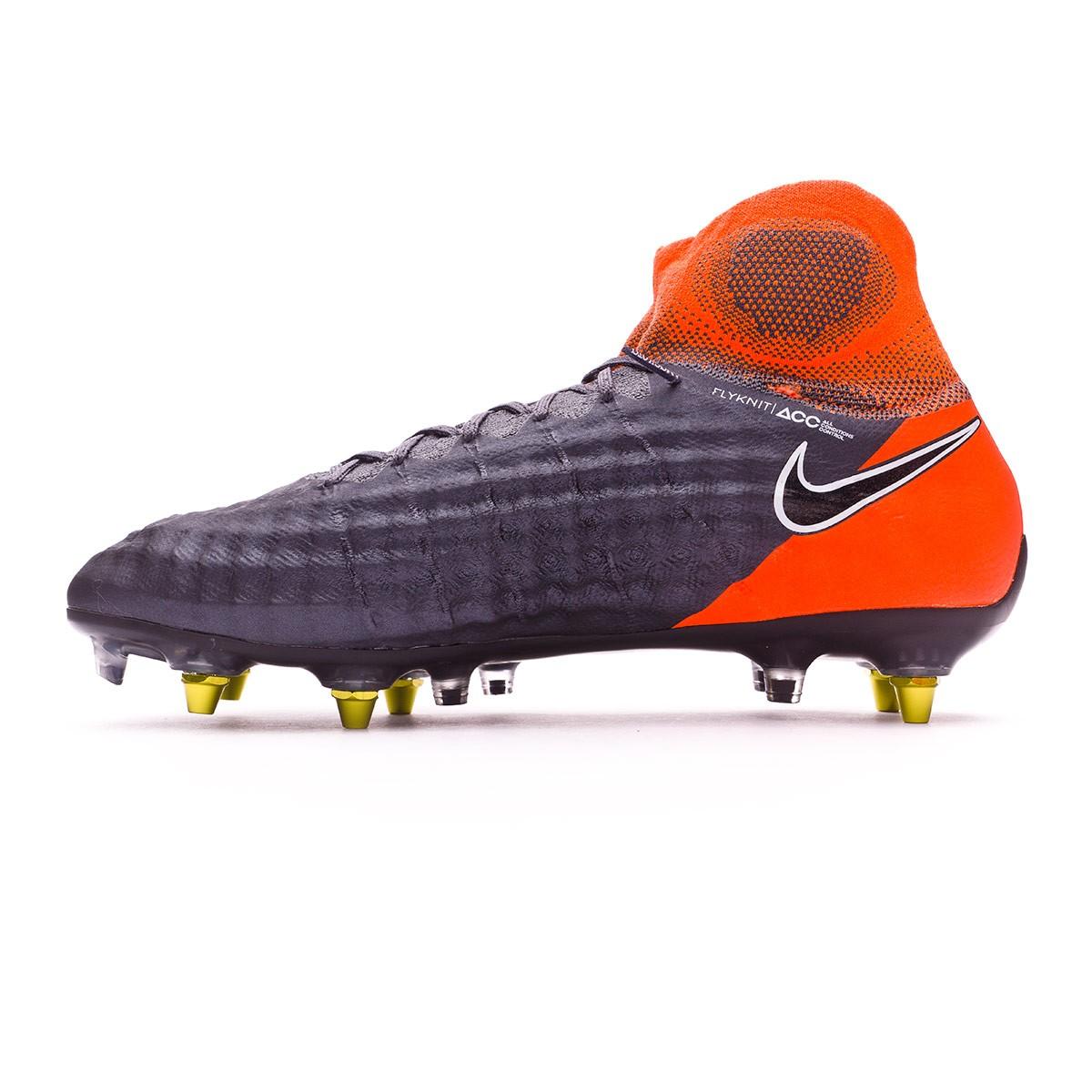 huge selection of 6be3c 401d4 Football Boots Nike Magista Obra II Elite SG-Pro Anti-Clog Dark grey-Black-Total  orange-White - Tienda de fútbol Fútbol Emotion