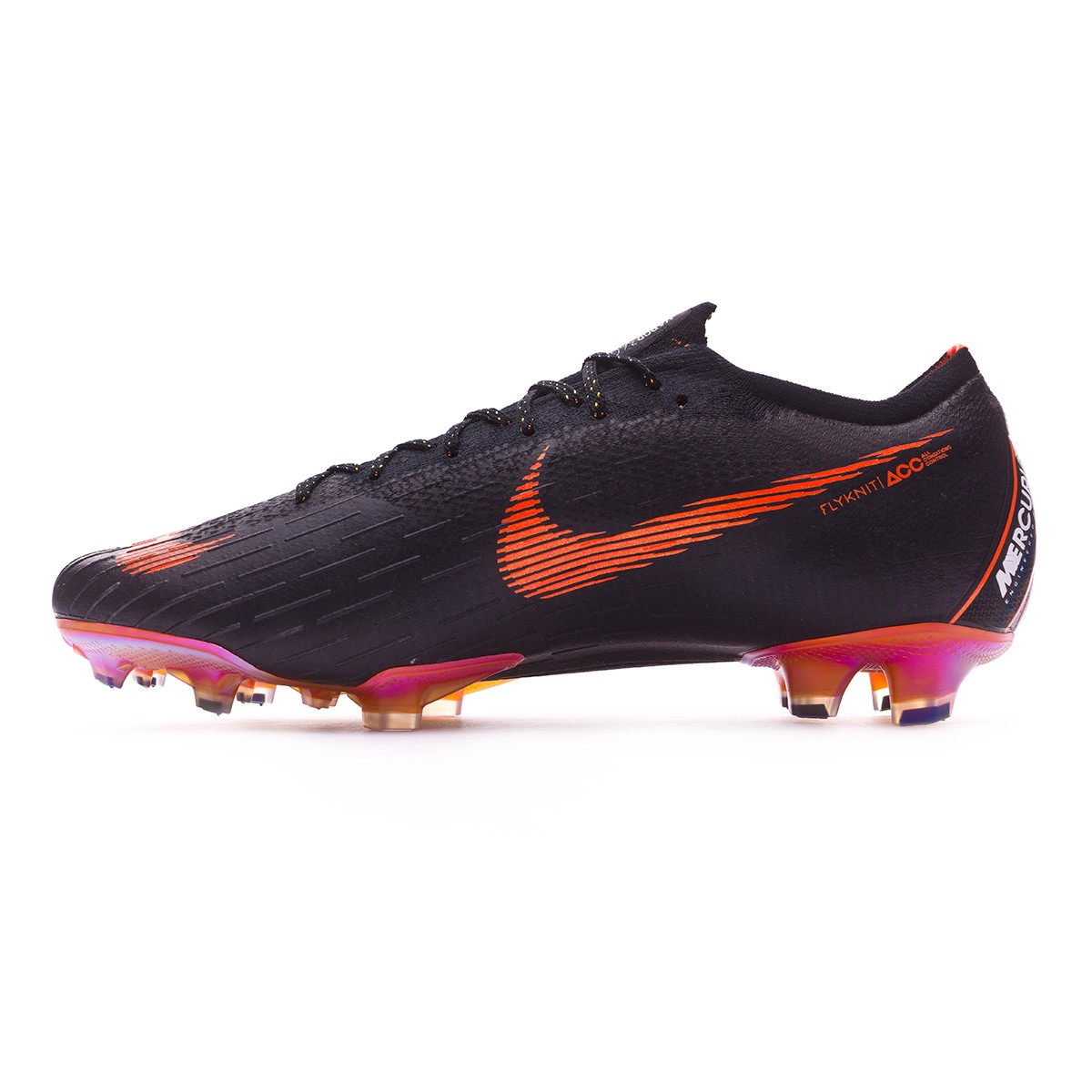 033ded761d8 Football Boots Nike Mercurial Vapor XII Elite FG Black-Total orange-White - Tienda  de fútbol Fútbol Emotion