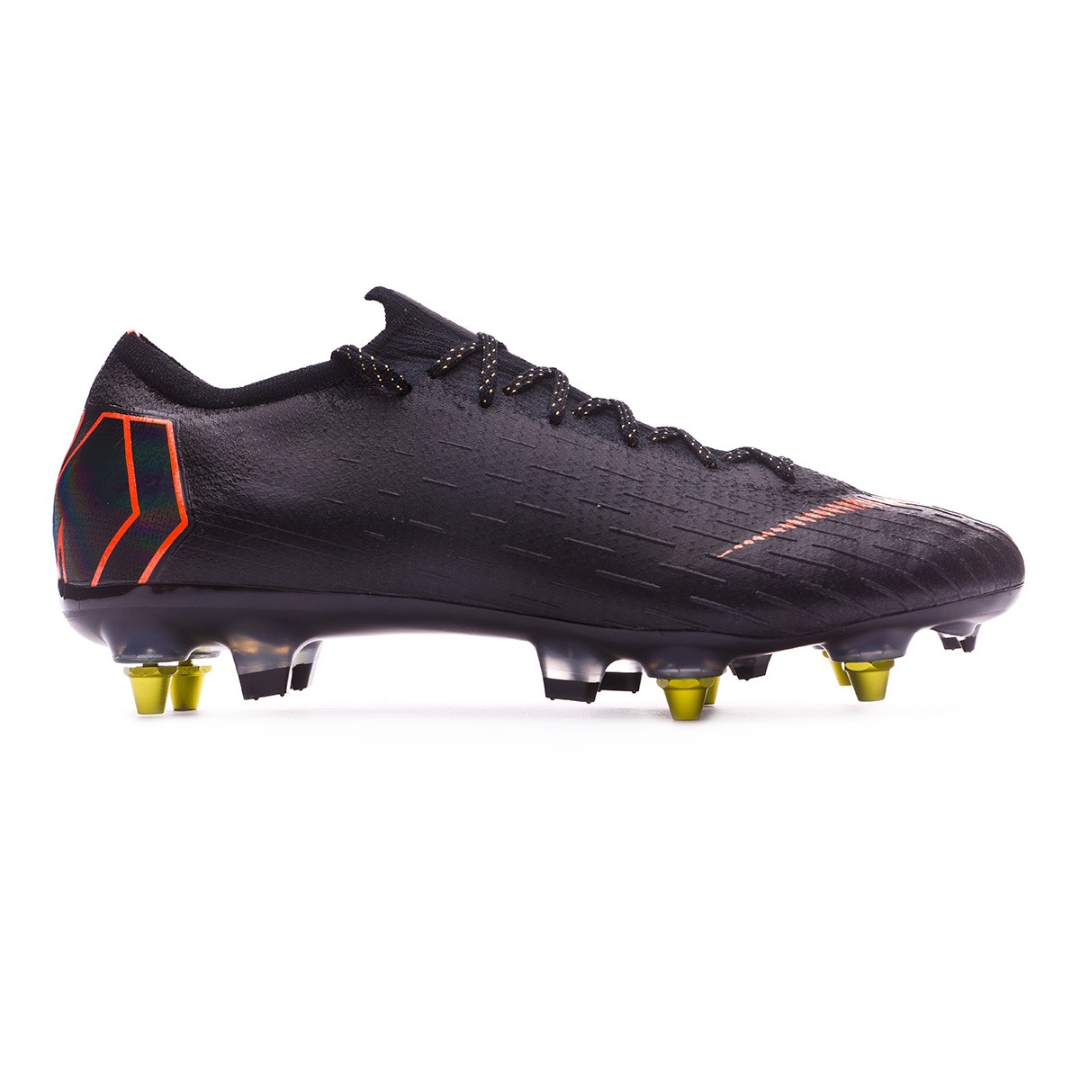 on sale 3d8cd f93a1 Football Boots Nike Mercurial Vapor XII Elite SG-Pro Anti-Clog Black-Total  orange-White - Football store Fútbol Emotion