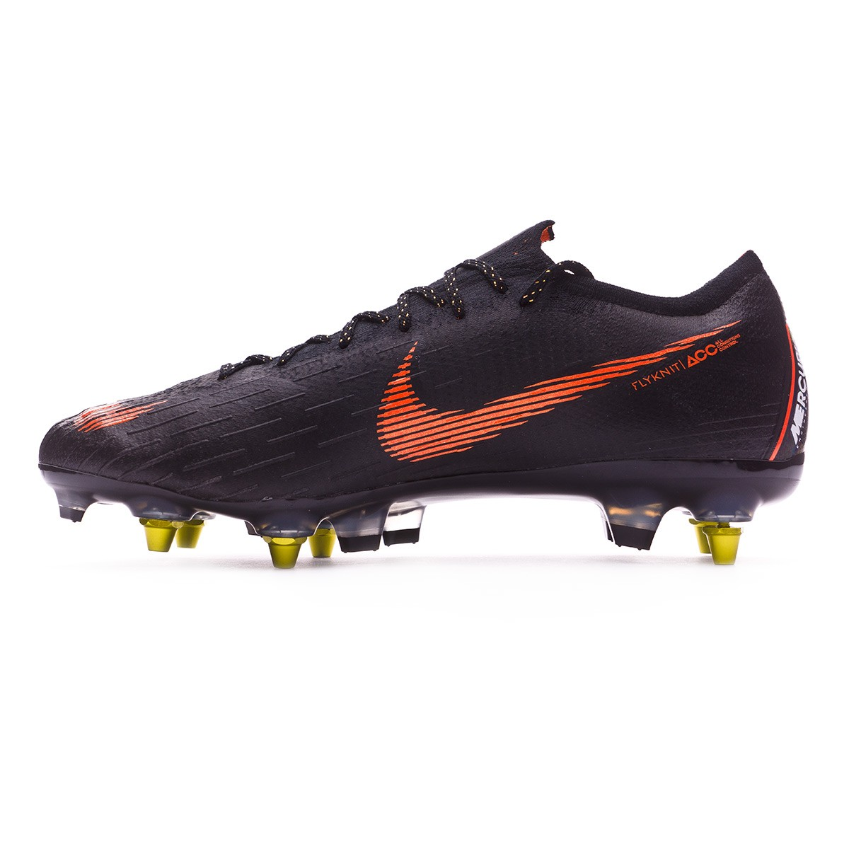 on sale 68a1c d398b Football Boots Nike Mercurial Vapor XII Elite SG-Pro Anti-Clog Black-Total  orange-White - Football store Fútbol Emotion