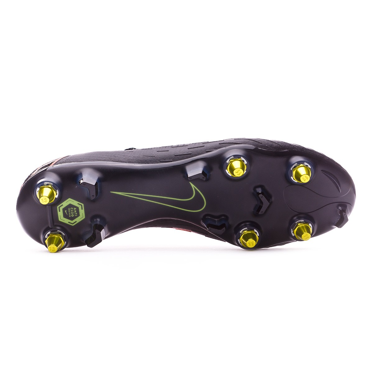 04568e774 Boot Nike Mercurial Vapor XII Elite SG-Pro Anti-Clog Black-Total ...