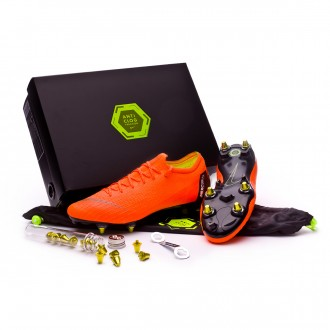 Chuteira  Nike Mercurial Vapor XII Elite SG-Pro Anti-Clog Total orange-Black-Volt