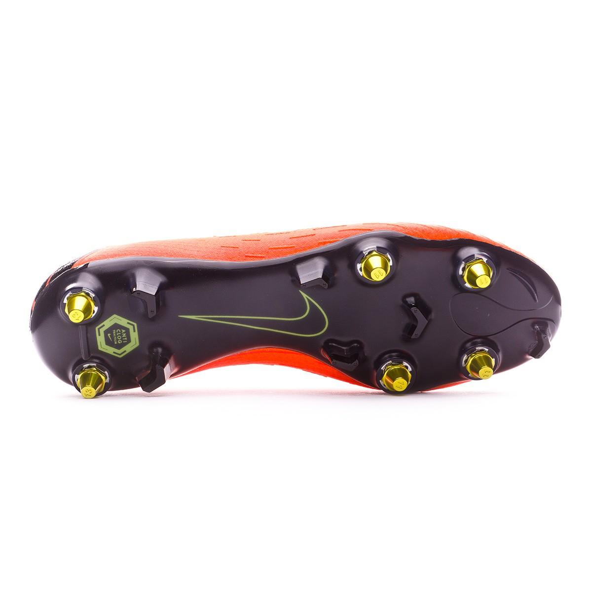 Boot Nike Mercurial Vapor XII Elite SG-Pro Anti-Clog Total  orange-Black-Volt - Football store Fútbol Emotion acab419ab