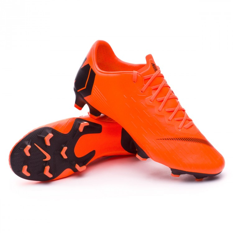 Chuteira Nike Mercurial Vapor XII Pro FG Total orange-Black-Volt ... 1874520877c6e