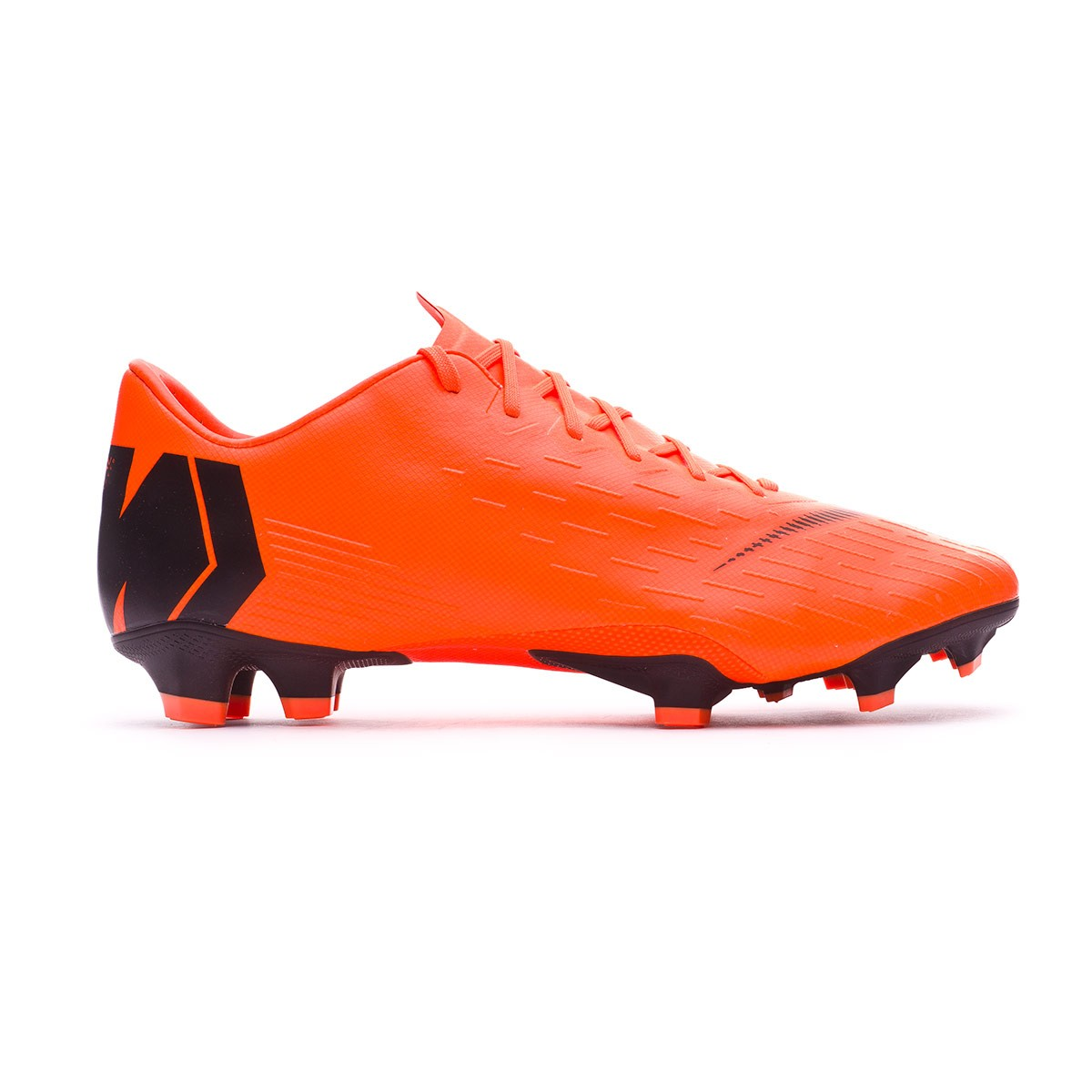 brand new 9a673 deeb0 Chaussure de foot Nike Mercurial Vapor XII Pro FG Total orange-Black-Volt -  Boutique de football Fútbol Emotion