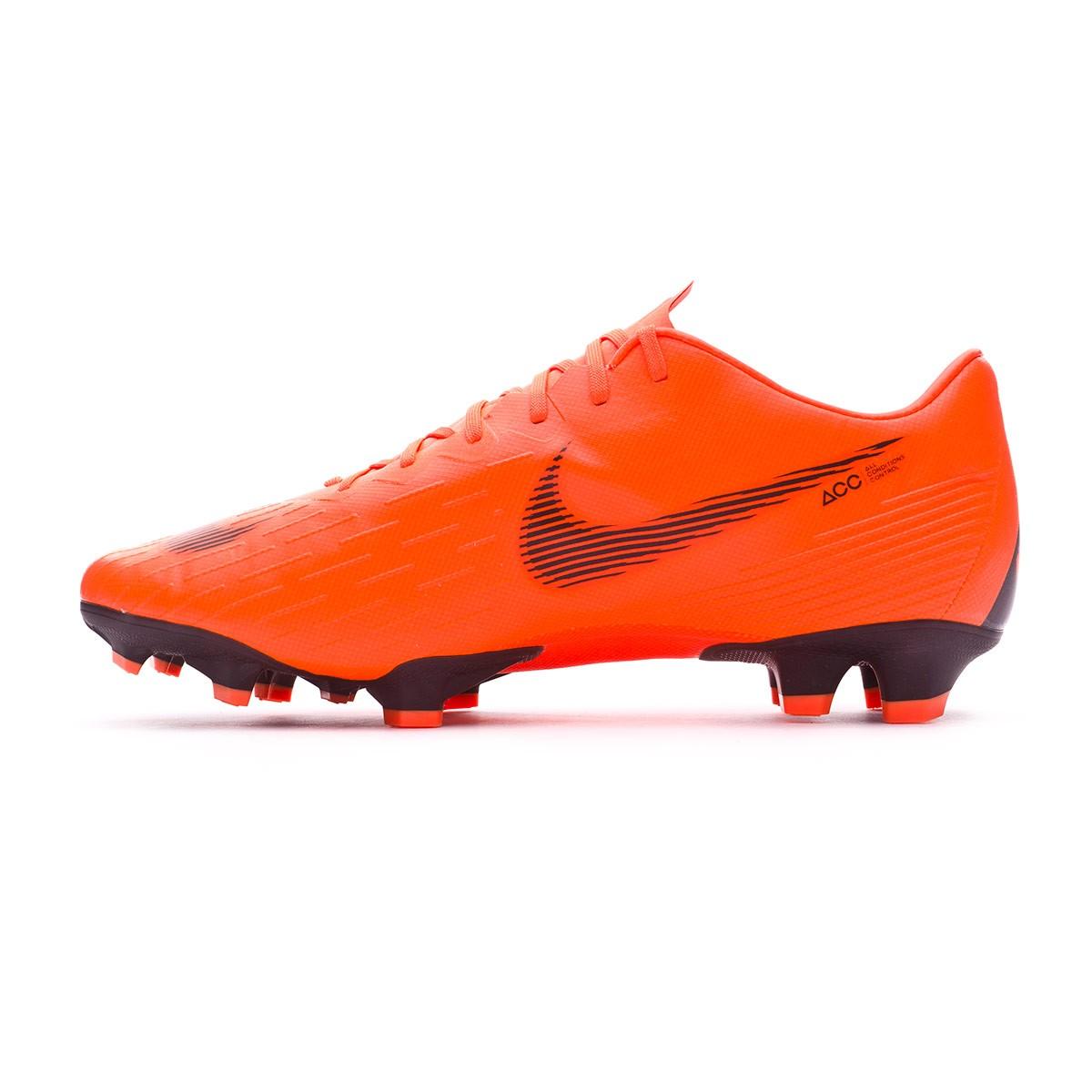 1c53c49abd62a Football Boots Nike Mercurial Vapor XII Pro FG Total orange-Black-Volt -  Football store Fútbol Emotion