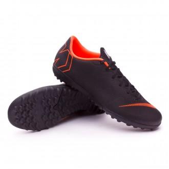 Sapatilhas  Nike Mercurial VaporX XII Academy Turf Black-Total orange-White