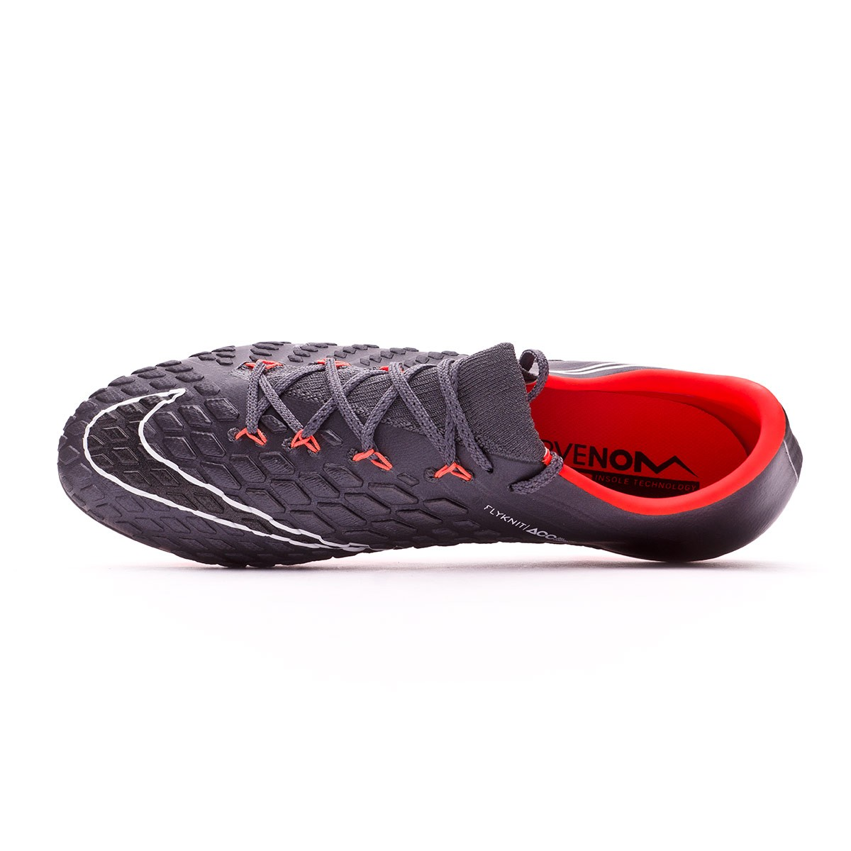 60f72e515733 Football Boots Nike Hypervenom Phantom III Elite AG-Pro Dark grey-Total  orange-White - Football store Fútbol Emotion