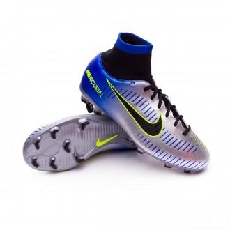 Chuteira  Nike Jr Mercurial Victory VI DF FG Neymar Racer blue-Black-Chrome-Volt
