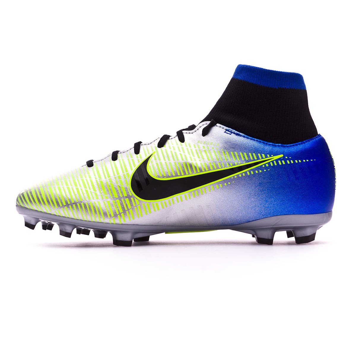 Zapatos de fútbol Nike Mercurial Victory VI DF FG Neymar Niño Racer  blue-Black-Chrome-Volt - Soloporteros es ahora Fútbol Emotion afc99638316f8