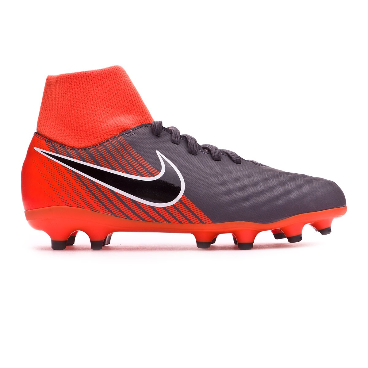 8333f1ae7 Football Boots Nike Kids Magista Obra II Academy DF FG Dark  grey-Black-Total orange-White - Tienda de fútbol Fútbol Emotion