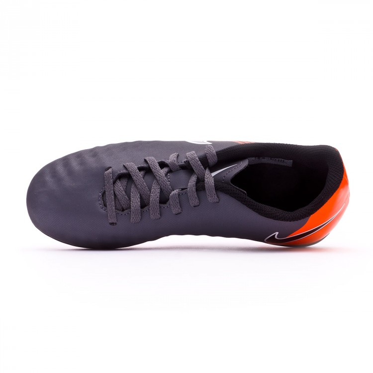 b30d6d98fd78 Football Boots Nike Kids Magista Obra II Club FG Dark grey-Black ...