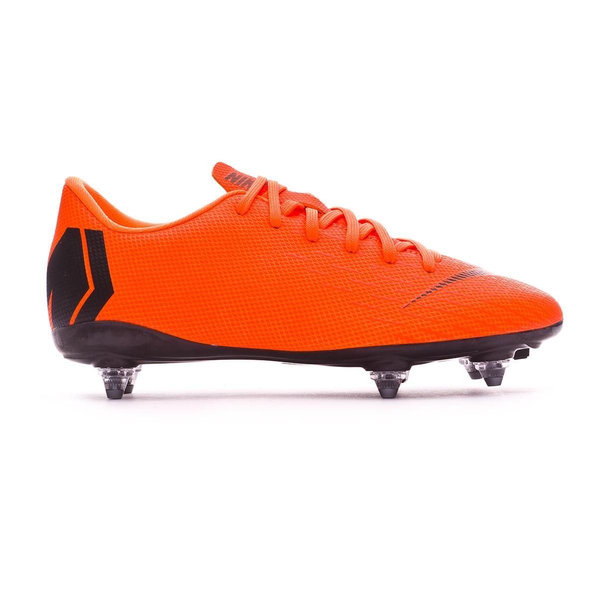 3998cfb33 Football Boots Nike Kids Mercurial Vapor XII Academy GS SG-Pro Total  orange-Black-Volt - Football store Fútbol Emotion