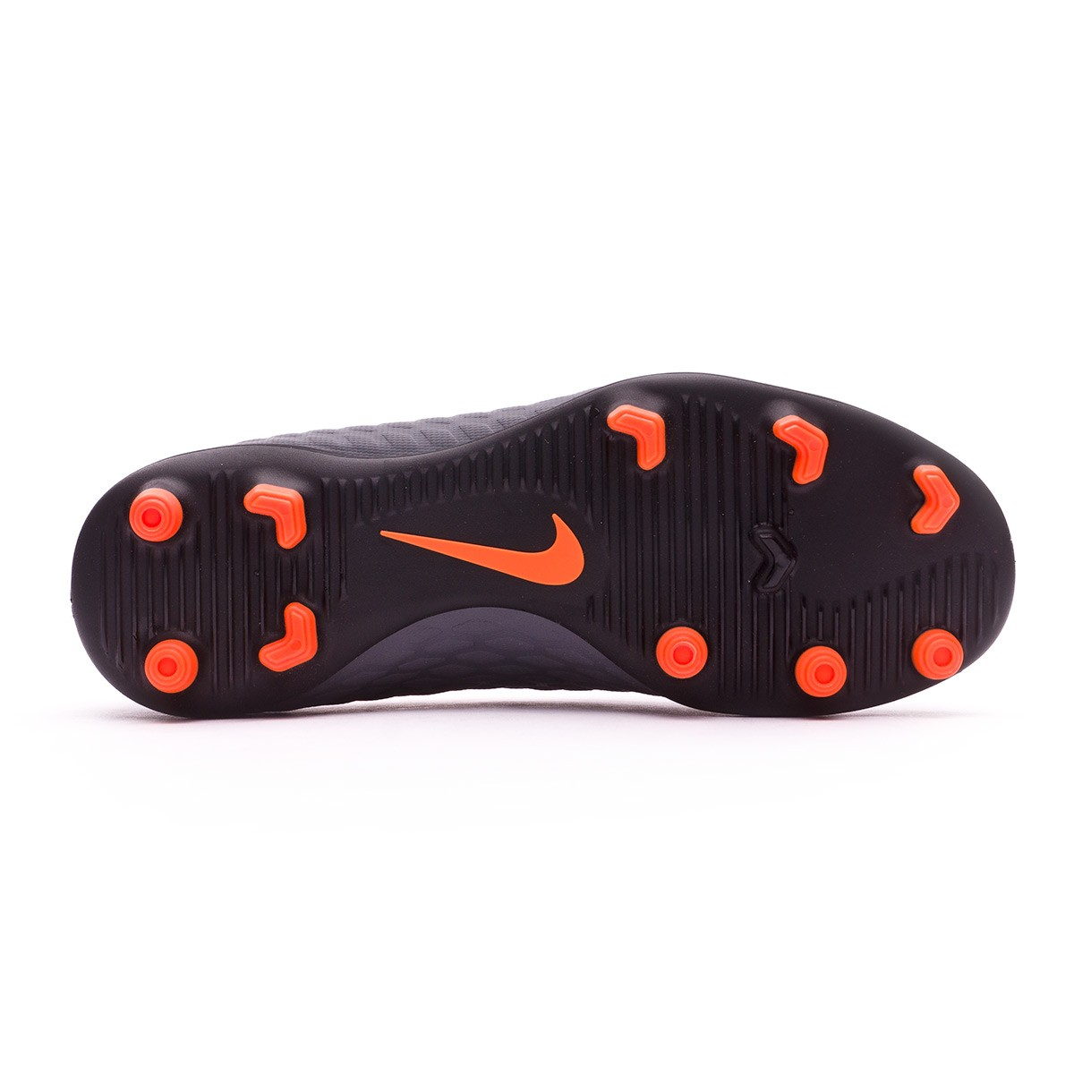 f36803a2234 Football Boots Nike Kids Hypervenom Phantom III Club FG Dark grey-Total  orange-White - Football store Fútbol Emotion