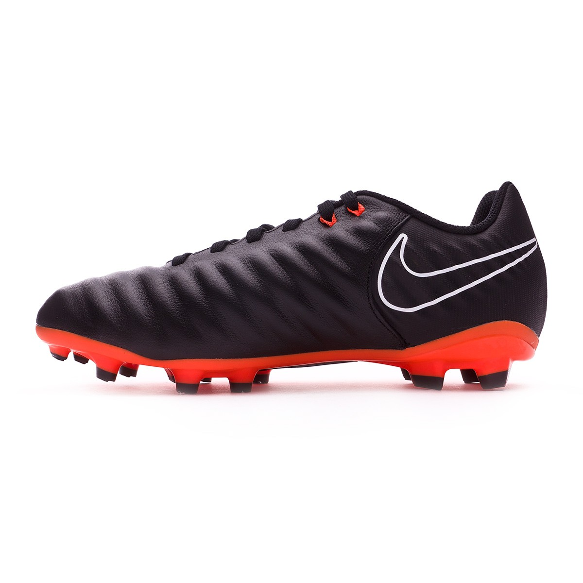 Bota de fútbol Nike Tiempo Legend VII Academy FG Niño Black Total