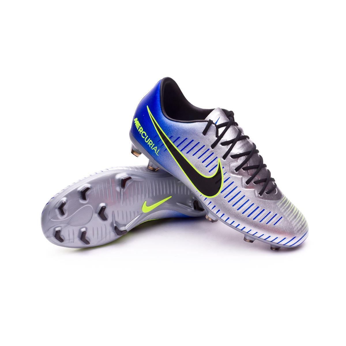 8a245427 Zapatos de fútbol Nike Mercurial Vapor XI FG Neymar Niño Racer  blue-Black-Chrome-Volt - Tienda de fútbol Fútbol Emotion
