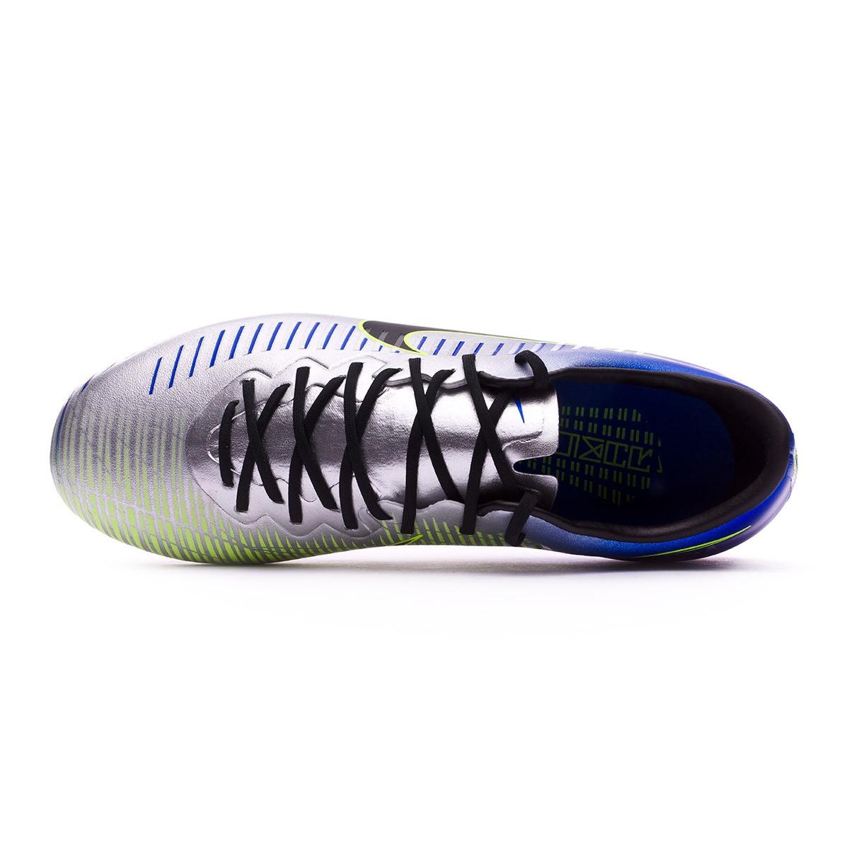 627ef7d520d Football Boots Nike Kids Mercurial Vapor XI FG Neymar Racer blue-Black- Chrome-Volt - Tienda de fútbol Fútbol Emotion