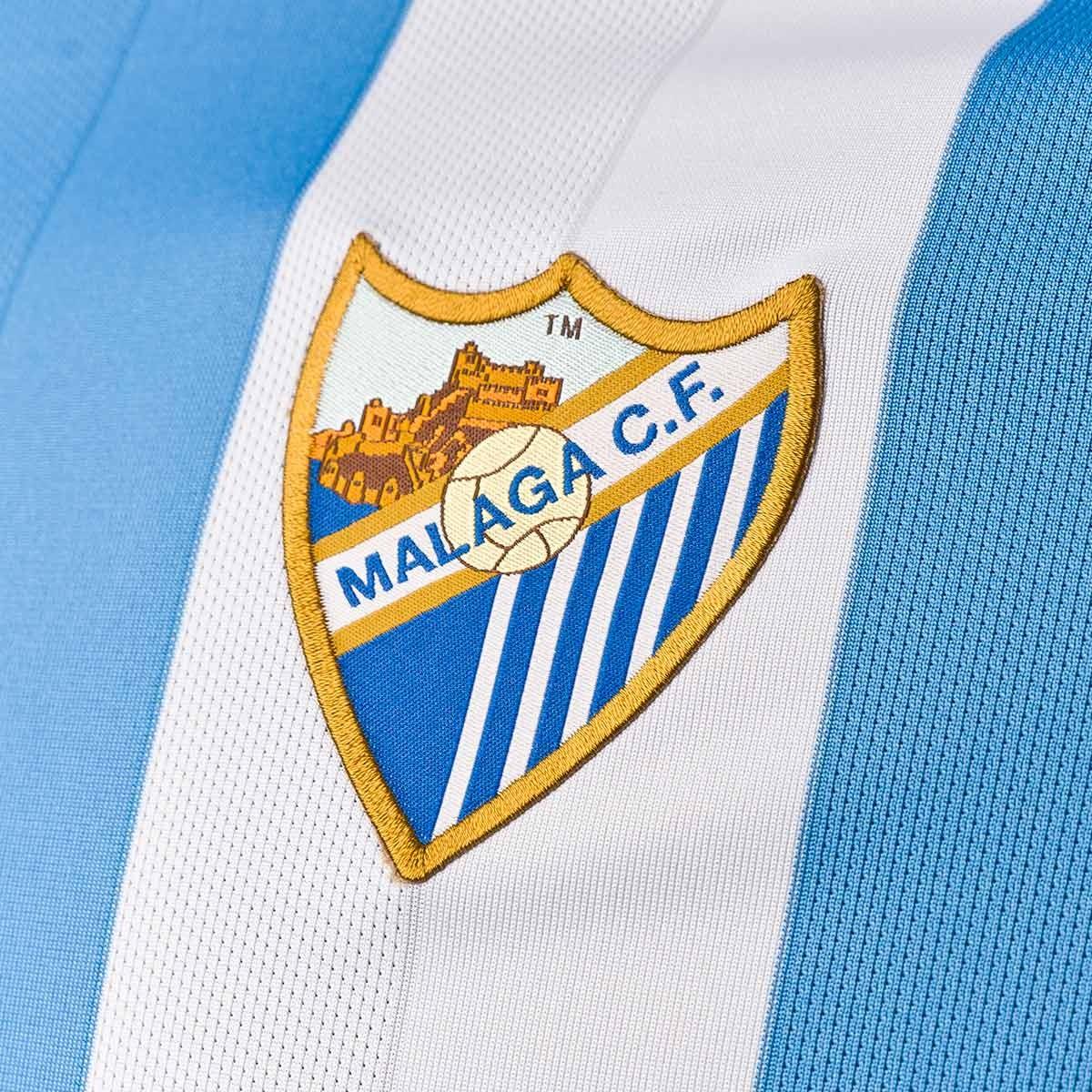 Camiseta Nike Málaga CF Primera Equipación 2017-2018 Blanco-Azul - Leaked  soccer aecc0f29aa19c
