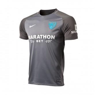 Camiseta  Nike Málaga CF Segunda Equipación 2017-2018 Gris