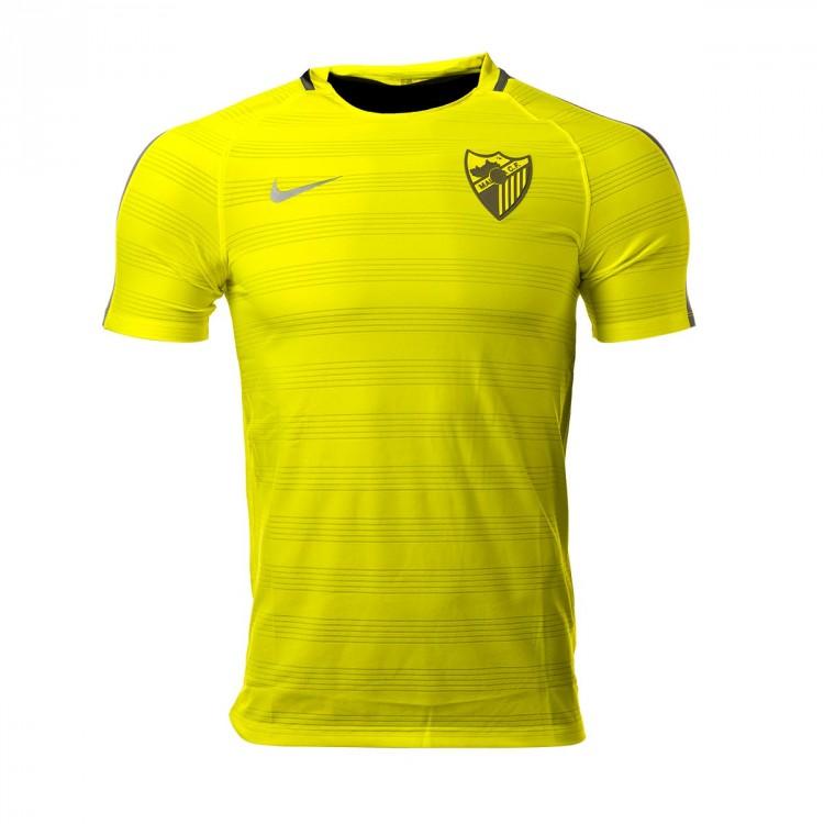 Camiseta Nike Málaga CF Entrenamiento 2017-2018 Volt ...