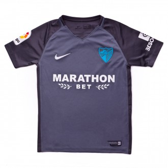 Jersey  Nike Kids Málaga FC 2017-2018 Away Gray