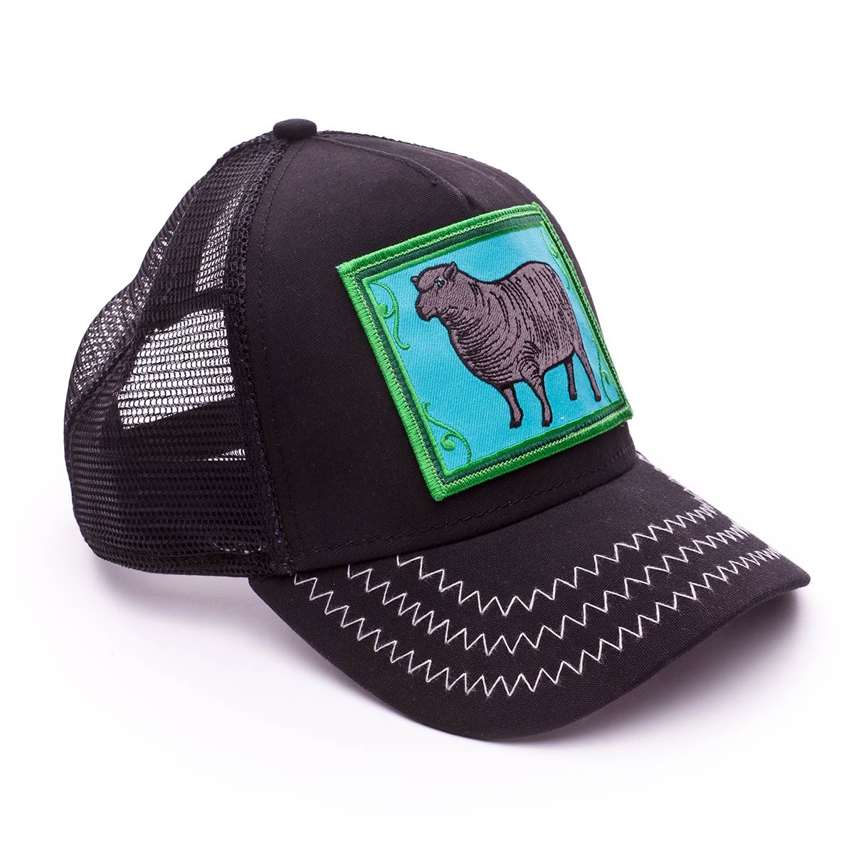 Cap Goorin Bros Black Sheep Black - Football store Fútbol Emotion d03eb5eb4cd