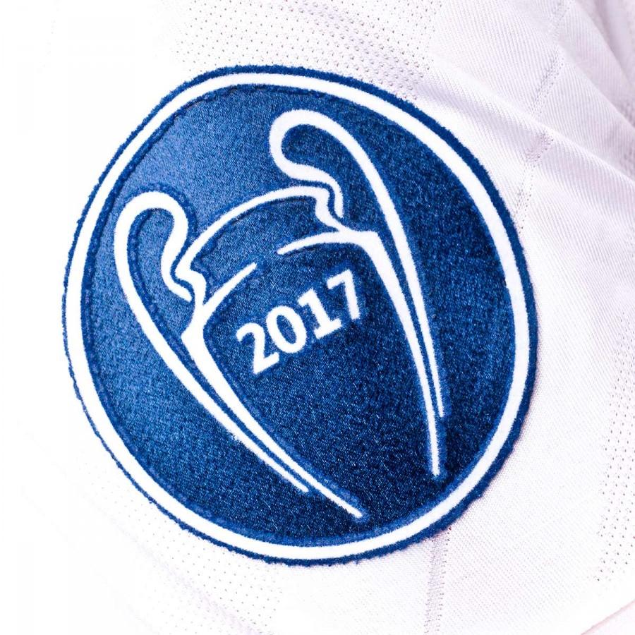 Camiseta adidas Real Madrid Primera Equipación UCL 2017-2018 White ... eb9eef7f05981