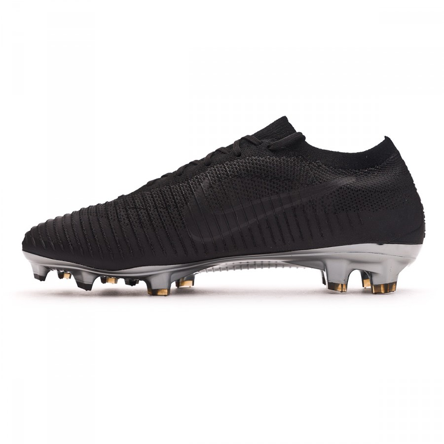 low cost 6662c 45b7e Football Boots Nike Mercurial Vapor Flyknit Ultra FG Black-Black - Football  store Fútbol Emotion