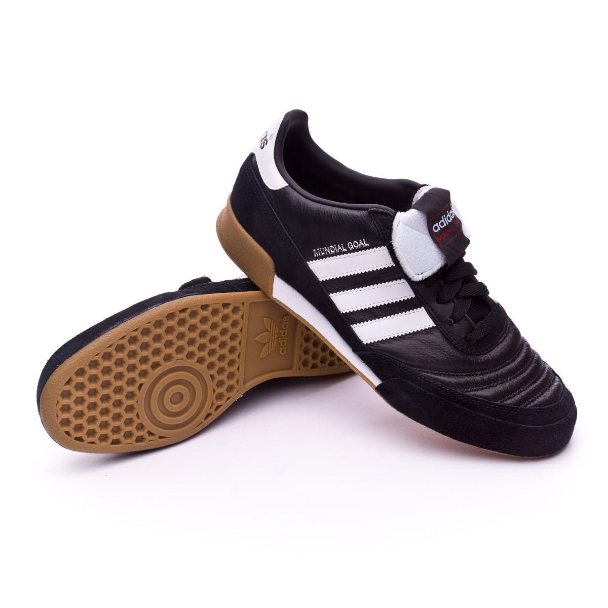 0c1a534fa50 Futsal Boot adidas Mundial Goal Black - Tienda de fútbol Fútbol Emotion