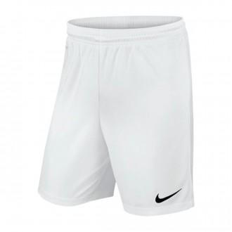 Pantalón corto  Nike Park II Knit WB Niño White