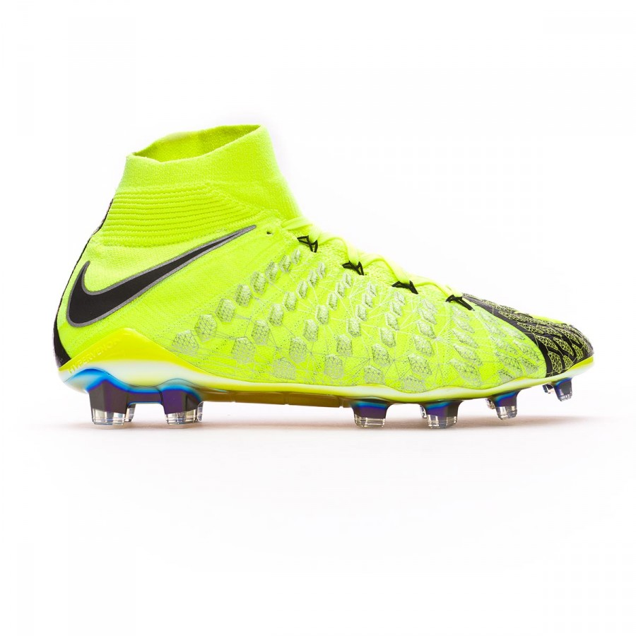 finest selection 6cfb0 65a62 Chaussure de foot Nike Hypervenom Phantom III DF EA SPORTS FG Black-Volt -  Boutique de football Fútbol Emotion