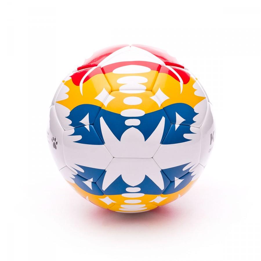 1fc6f83e7fa7a Balón Kelme Olimpo Gold Réplica LNFS 2017-2018 Blanco - Tienda de fútbol  Fútbol Emotion