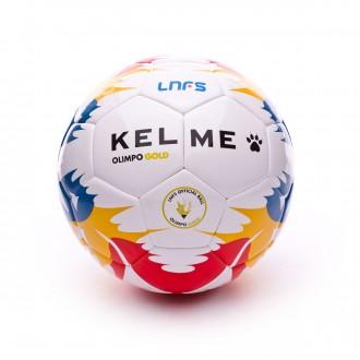 Bola de Futebol  Kelme Olimpo Gold Oficial LNFS 2017-2018 Branco