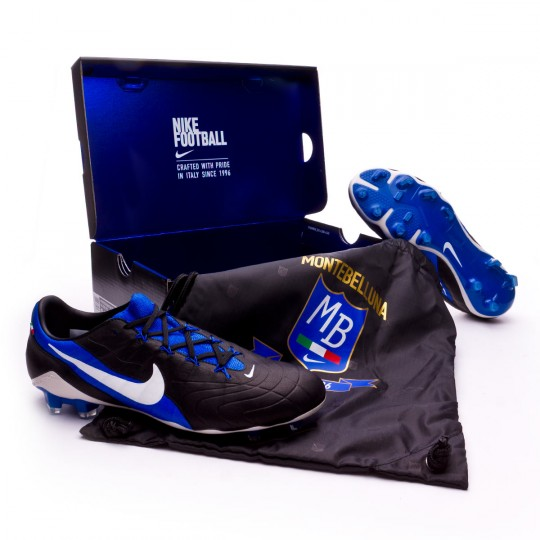 Bota  Nike Hypervenom Phantom III GX SE FG Black-Game royal-White