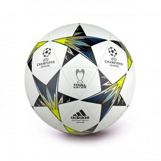 Balón  adidas Finale Kiev Capitano White-Black-Solar yellow-Blue-Clear agua-Oran