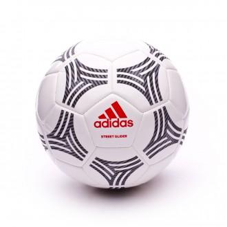 Bola de Futebol  adidas Tango Street Glider White-Black-Real coral